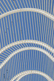 Arched roof detail modern architecture Stock Image