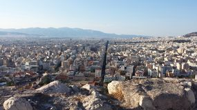 Athens panorama, Greece. Capital city of Greece, Europe, popular touristic destination Stock Photography