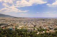Athens, Greece Cityscape Stock Images