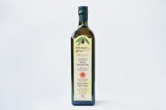 Athens, Greece - February 22, 2017: Greek native olive oil Kolym Royalty Free Stock Image