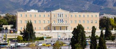 Greek Parliamentin Athens royalty free stock photos