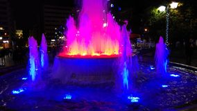 Athens - Greece - Fountain Stock Photography