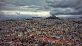 Athens - Greece. Athens has been the center of Greek civilization for some 4,000 years. The capital of modern Greece, it's still dominated by 5th-century-B.C.E Royalty Free Stock Image