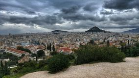 Athens - Greece. Athens has been the center of Greek civilization for some 4,000 years. The capital of modern Greece, it's still dominated by 5th-century-B.C.E Stock Photos