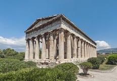 athens Greece hephaestus świątynia Zdjęcia Royalty Free