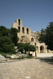 Athens, Greece - Herodus Atticus Theatre Royalty Free Stock Photography