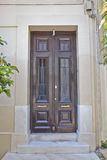 Athens Greece, house entrance Royalty Free Stock Photo