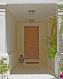 Athens Greece, house entrance Royalty Free Stock Image