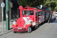 Tourist Train Athens Royalty Free Stock Image