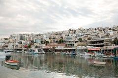 athens Greece mikrolimano Piraeus port Fotografia Royalty Free