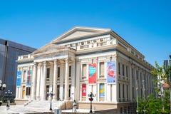 Athens, Greece - 26.04.2019: Municipal Theatre Of Piraeus exterior view in Piraeus royalty free stock image