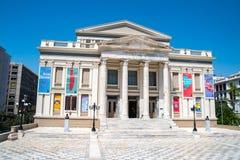 Athens, Greece - 26.04.2019: Municipal Theatre Of Piraeus exterior view in Piraeus stock image
