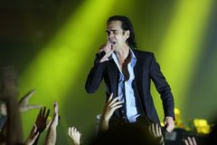 Nick Cave Royalty Free Stock Photo
