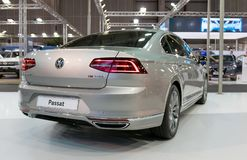 ATHENS, GREECE - NOVEMBER 14, 2017: Volkswagen Passat at Aftokinisi-Fisikon 2017 Motor Show. The Volkswagen Passat is a large family car produced by the German Stock Photos
