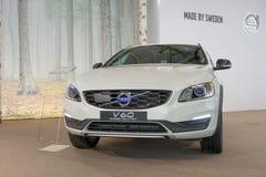 ATHENS, GREECE - NOVEMBER 14, 2017: ATHENS, GREECE - NOVEMBER 14, 2017: Volvo V60 Cross Country at Aftokinisi-Fisikon 2017 Motor S Royalty Free Stock Image