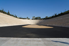 athens greece olympic stadion Royaltyfri Bild