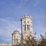 Athens, Greece, Panaghia Chrysospiliotisa old church Royalty Free Stock Image