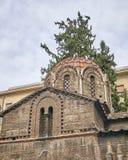 Athens, Greece, Panaghia Kapnikarea church Stock Photography