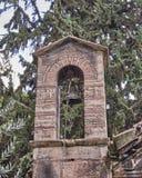Athens, Greece, Panaghia Kapnikarea church steeple Stock Images