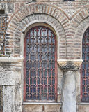Athens, Greece, Panaghia Kapnikarea church window Royalty Free Stock Photos