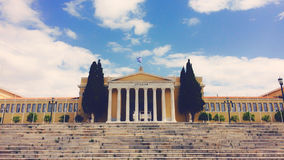 Athens, Greece. Parliament building in Athens Greece Stock Images
