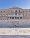 Athens, Greece, the parliament on Syntagma square Royalty Free Stock Photos