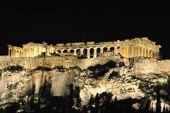 athens greece parthenon Royaltyfri Foto
