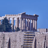 Athens, Greece, Parthenon ancient temple Stock Photography