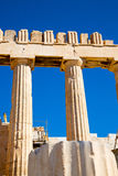 Athens in greece the  parthenon Stock Photography
