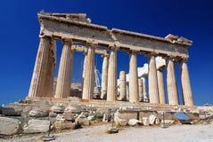 athens greece parthenontempel royaltyfri foto