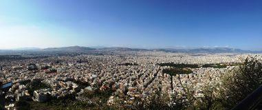 Athens greece photographed many hill views, this is a great city Stock Image