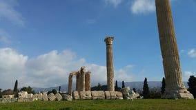 Athens - Greece - Ruins Stock Image