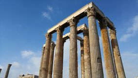 Athens - Greece - Ruins Stock Images