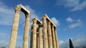 Athens - Greece - Ruins Stock Photo