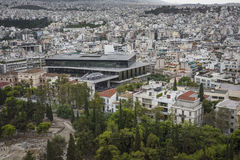 ATHENS - GREECE - SEPTEMBER 21,2016:New Acropolis museum, Athens Stock Images