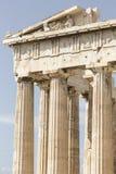 ATHENS - GREECE - SEPTEMBER 21,2016 : Parthenon temple on the Ac Stock Image