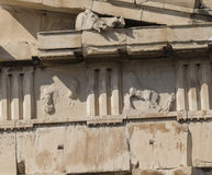 ATHENS - GREECE - SEPTEMBER 21,2016 : Parthenon temple on the Ac Royalty Free Stock Images
