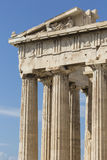 ATHENS - GREECE - SEPTEMBER 21,2016 : Parthenon temple on the Ac Stock Photography