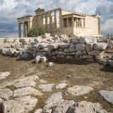 ATHENS - GREECE - SEPTEMBER 21,2016 : Parthenon temple on the Ac Stock Photos