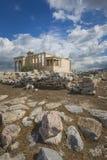 ATHENS - GREECE - SEPTEMBER 21,2016 : Parthenon temple on the Ac Royalty Free Stock Photos