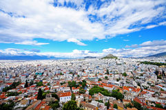 Athens, Greece. View of Athens from Acropolis, Greece Royalty Free Stock Photos