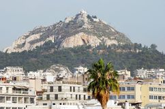 Athens Hill Royalty Free Stock Photos