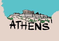 Athens Royalty Free Stock Image