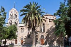 athens kyrkliga greece nikodimos Royaltyfria Bilder