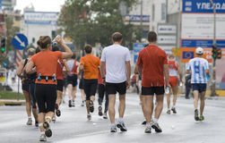 athens maraton Obrazy Royalty Free