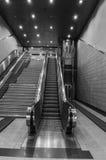 Athens metro escalators Stock Photo