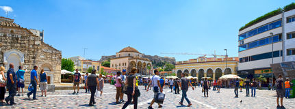 Athens-Monastiraki Royalty Free Stock Images
