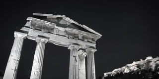 Athens monuments Stock Images