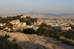 Athens in the morning, Greece Stock Image