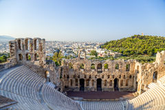 Athens. The Odeon of Herodes Atticus 2 Royalty Free Stock Images